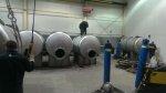 Specjalistyczne zbiorniki są wielokrotnie koniecznym elementem linii produkcyjnej w wielu przedsiębiorstwach